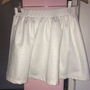 White Topshop skirt